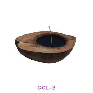 Coconut Filled Black Candle Long Cut with CODE 5 x 5 cm 300 dpi