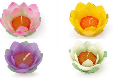 Lotus Scented Candle